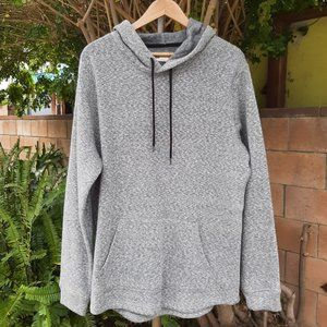 NWT Levi's Heather Gray Sweater Hoodie Large